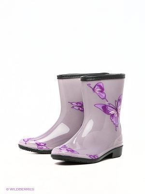 Полусапожки KEDDO. Цвет: сиреневый, фиолетовый