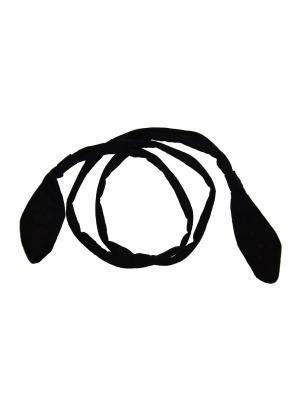 Ободок, диадема Bizon. Цвет: черный