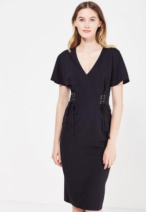 Платье Miss Selfridge. Цвет: черный
