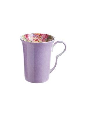 Кружка Флавия фиолетовая Elff Ceramics. Цвет: фиолетовый