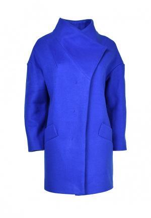 Пальто Grafinia. Цвет: синий