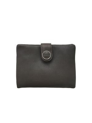 Карманный кошелек Дивали без принта NOOSA-Amsterdam. Цвет: серо-коричневый