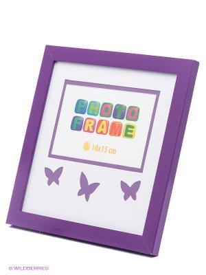 Фоторамка Butterfly VELD-CO. Цвет: фиолетовый