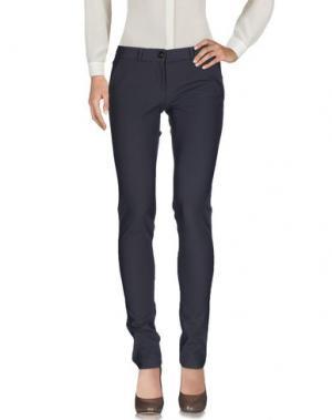 Повседневные брюки RRD. Цвет: розовато-лиловый