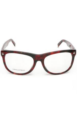 Очки корригирующие DSquared2. Цвет: красный