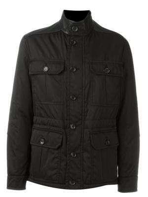 Куртка с карманами Bally. Цвет: чёрный