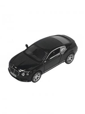 Машинка Инерционная Bentley Continental GT V8, Черная (1:32) (PS-554021-BL) Pit Stop. Цвет: черный