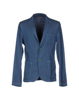 Пиджак DIMATTIA. Цвет: синий