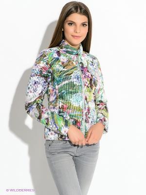 Куртка Colmar. Цвет: зеленый, белый