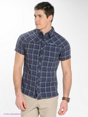 Рубашка Bergans. Цвет: синий