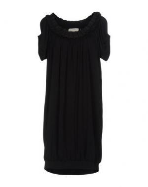 Короткое платье SCRUPOLI. Цвет: черный