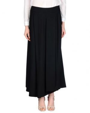 Длинная юбка OBLIQUE CREATIONS. Цвет: черный