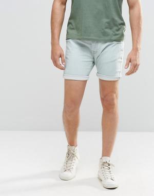 Brave Soul Джинсовые шорты скинни. Цвет: синий
