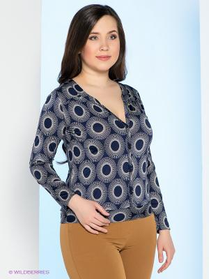 Кофточка Milana Style. Цвет: темно-синий
