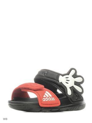 Сандалии Disney Akwah Adidas. Цвет: черный