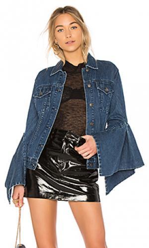 Куртка со складками на рукавах denim EDIT. Цвет: none