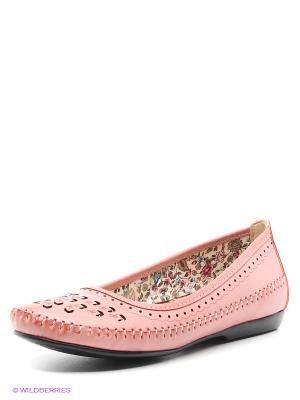 Балетки Spur. Цвет: розовый