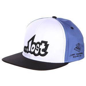 Бейсболка  Classic Bst Lost. Цвет: черный,синий,белый