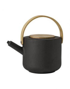 Для чая и кофе STELTON. Цвет: стальной серый