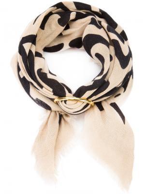 Groovy floral scarf Lizzie Fortunato Jewels. Цвет: телесный