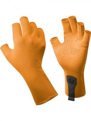 Перчатки рыболовные BUFF Sport Series Water Gloves Solar Orange (св. оранжевый). Цвет: оранжевый