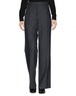Повседневные брюки SANDRO. Цвет: свинцово-серый