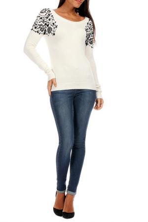 Пуловер George Rech. Цвет: белый