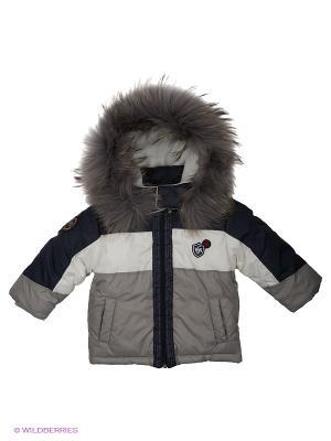 Куртка Wojcik. Цвет: серый, белый, черный