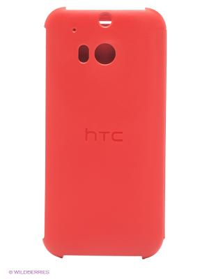 Чехол One M8 red HTC. Цвет: коралловый