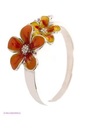 Кольцо Lovely Jewelry. Цвет: оранжевый, желтый