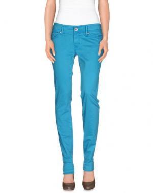 Повседневные брюки NOLITA DE NIMES. Цвет: бирюзовый