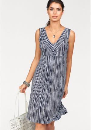 Платье BOYSENS BOYSEN'S. Цвет: темно-синий/белый в полоску