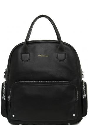 Сумка-рюкзак Farfallina. Цвет: черный