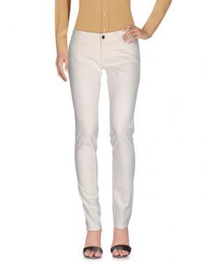 Повседневные брюки S.O.S by ORZA STUDIO. Цвет: белый