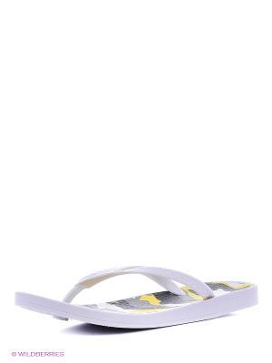 Туфли для купания женские из ПВХ композиции BRIS. Цвет: серый