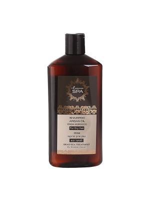 Шампунь Moroccan SPA для сухих волос с маслом марокканского аргана 500мл Shemen Amour. Цвет: оранжевый