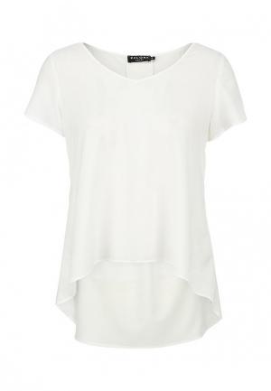Блуза Zalora. Цвет: белый