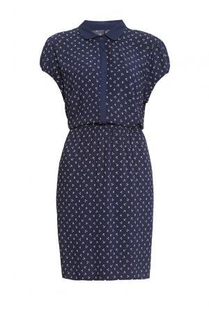 Платье из вискозы 170639 Saint James. Цвет: синий