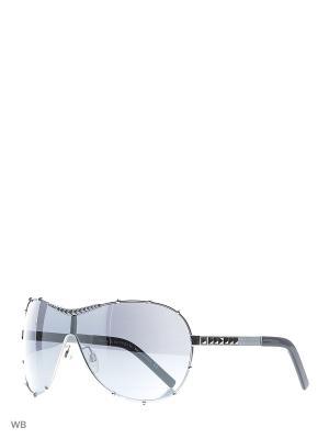 Солнцезащитные очки RR 519 02 Rock & Republic. Цвет: серебристый