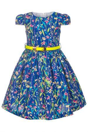 Платье M&D. Цвет: синий