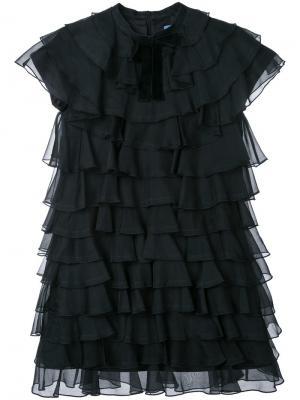 Платье Bon Macgraw. Цвет: чёрный