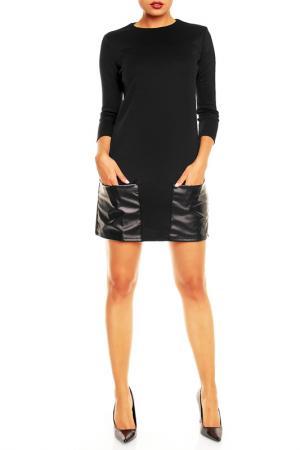 Платье Karen. Цвет: черный