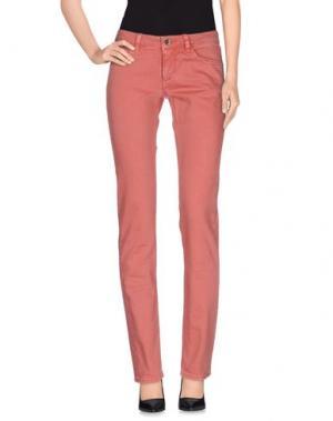 Джинсовые брюки UNLIMITED. Цвет: коралловый