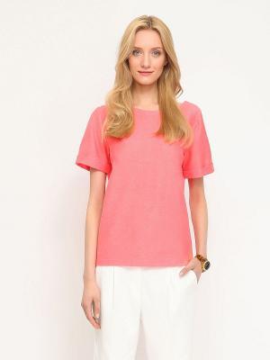 Блузка Drywash. Цвет: розовый