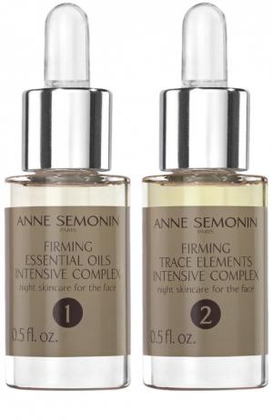 Повышающий упругость кожи интенсивный комплекс с эфирными маслами и олигоэлементами Anne Semonin. Цвет: бесцветный