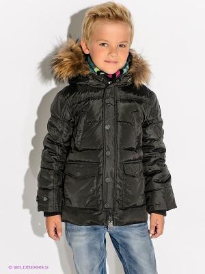 Куртка Bomboogie Kids. Цвет: темно-серый