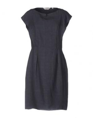 Короткое платье GUGLIELMINOTTI. Цвет: грифельно-синий