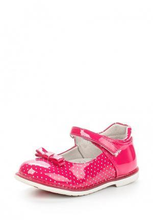 Туфли Obba. Цвет: розовый