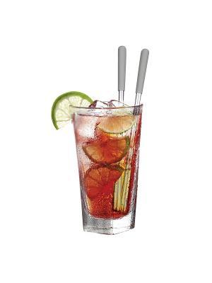 Палочки для охлаждения коктейлей, набор 2шт. Cocktail Sticks Contento. Цвет: серебристый