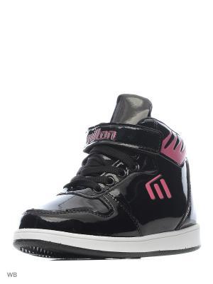 Ботинки Milton. Цвет: черный, розовый